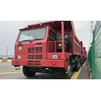 China SINOTRUK HOWO Euro II RHD 6X4 420HP Mining Tipper Dump Truck With 9.726L Displacement wholesale