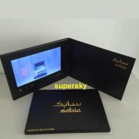 China 5 inch screen Video Postcard with switch buttons , video mailer  with Hi-Fi speakers wholesale