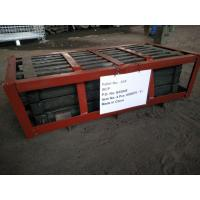 China Alloy Steel Wear-resistant Castings Cr-Mo Alloy Steel Grizzly Screen Slots wholesale