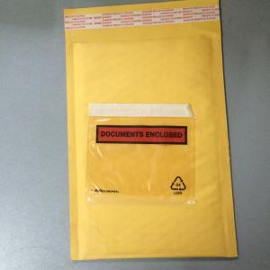 Buy cheap Los sobres acolchados de oro/del amarillo con los documentos incluidos/ataron la bolsa from wholesalers