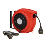 China Impact Resistant Polypropylene Electric Cable Reel With Over Load Breaker Red wholesale