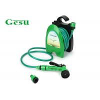 China 10 M Garden Water Hose Reel Set System / Plastic Small Garden Hose Reel wholesale