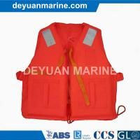 China SOLAS Approved marine work life jacket for ship supplier wholesale