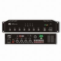 China Classic 30/60/120/240/350/500W Mixer Amplifier with 4 Dual RCA Line Inputs wholesale