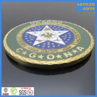 Camp Gruber Training Site Command Great Seal of The State of Oklahoma coin 7