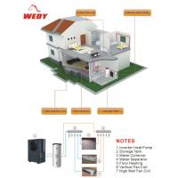 DC inverter heat pump for floor heating