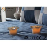 China Flower Shape Safety Real Wax LED Candles For Home Decoration RW-127 wholesale