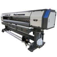 China Epson DX5 Print Head 1.8M Eco Solvent Printer For Vinyl / Perforate Window / Banner Printing wholesale