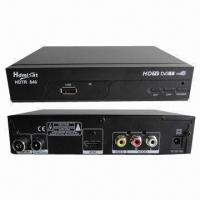 China Mini HD Digital Terrestrial Receiver, Supports MPEG4, HDTV and PVR (USB 2.0), Free to Air wholesale