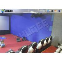 China Interactive Shooting 7D Cinema Set Up In Parks And Playgrounds With Immersive Experience wholesale