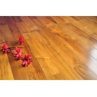 China discount Engineered red cabreuva, teak wooden flooring damp-proof and wear resistant on sale