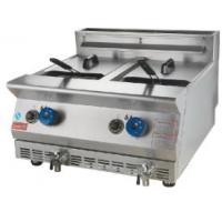 Buy cheap Double tank and basket gas deep fryer Model:DF-72A from wholesalers