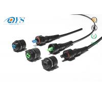 China IP68 FTTX waterproof connector ODVA SC LC MPO Fiber Optic Cable Assemblies outdoor fiber optic patch cable wholesale