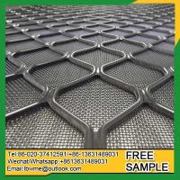 China Tehran metal security grilles aluminum amplimesh diamond grille for windows and doors wholesale