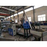 Buy cheap Fully Automatic WPC Foam Board Machine , WPC PVC Cabinet Furniture Foam Board Production Line from wholesalers