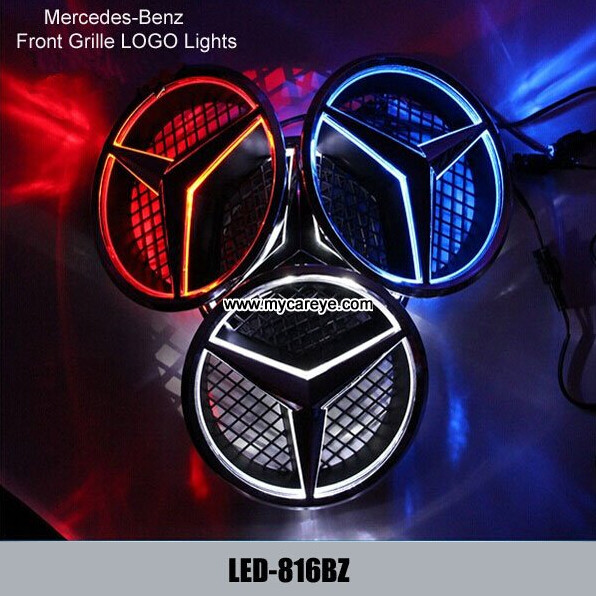 Auto emblem manufacturer images for Mercedes benz emblem light