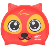 China Durable Cartoon Animal Swim Caps , Professional Kids Swim Hat For Summer Sport wholesale