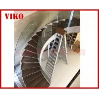 China Curved Staircase Curved Spiral Glass Railing 12mm Thickness Tempered Glass Railing Australia Building Code Interior desi wholesale