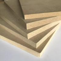 China Thickness 1.8 - 30mm Melamine Faced MDF Board 8% - 14% Moisture Content wholesale