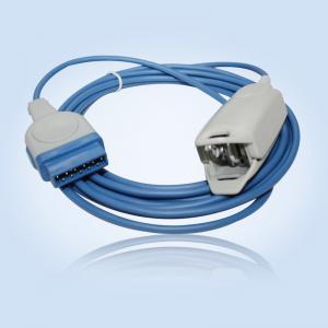 China GE adult finger spo2 probe 3meter 11pin compatibility Nellcor wholesale