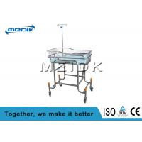 China Medical Nursing Baby Bassinet Transparent Acrylic Infant Bed SS Structure wholesale