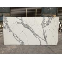 China Quartz stone kitchen top Polished Artificial Quartz Stone Quartz Slabs 3200*1600mm wholesale