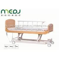 China Semi Fowler Electric Hospital Bed MJSD04-09 Nursing Bed With Wood Board wholesale