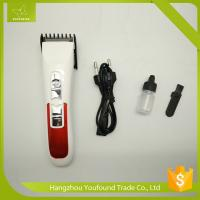 KM-3003A Cordless Rechargeable Electric Hair Clippers Battery Hair Trimmer