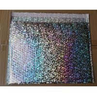 China Strong Protection Holographic Bubble Mailers Decorative Shipping Envelopes wholesale