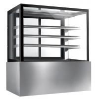 China Commercial Glass Cake Display Cabinet , Auto Defrost Cake Display Chiller,1800mm Length and 800L Cake Fridge on sale