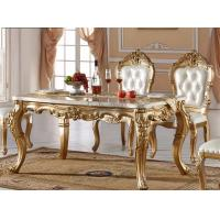 Buy cheap Dining Room Furniture Carving Square Dining Table from wholesalers