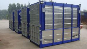 China SC200 Single Cage Construction Passenger Hoist 3×11KW Power on sale