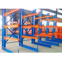 China Large Capacity Cantilever Lumber Rack , Industrial Cantilever Racks Stable on sale