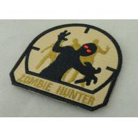 Buy cheap Economic Military Uniform Badges , Iron Glue Cotton Fabric Embroidered Patches from wholesalers