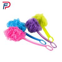 Buy cheap SJB1-(1+1) Factory directly beautiful body cleaning plastic bath brush with long handle from wholesalers