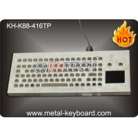 China Water Resistant Desktop Industrial Keyboard With Trackball / Touchpad Mouse , 90 Keys wholesale