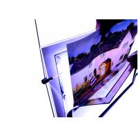 China A4 Size Crystal Outdoor Led Light Box Anti Ultraviolet on sale
