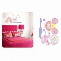 Fashionable Wall Sticker, Eco-friendly and Nontoxic