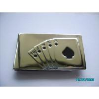 China Engraved metal Money clip with engraved logo on sale