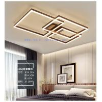 China Decorative Modern Rectangle Acrylic LED Suspended Ceiling Lighting 580*450*110MM on sale