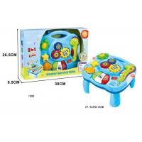 Buy cheap Toddler Musical Learning Table Infant Baby Toys 12 Months With Light & Sound from wholesalers