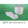 China Fil de couture du polyester Ne40s/3 blanc cru lumineux pour la couture de manteaux/chemises wholesale