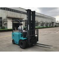 China 4.5 meter triple mast electric warehouse forklift , 48v battery powered forklift Truck on sale