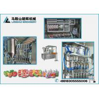 China Vegetable Protein Drinks| Soy Milk Automatic Filling and Capping Machine For Doy-pack wholesale