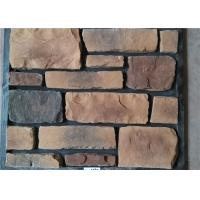 China Classical Style Wateproof Faux Exterior Stone , Faux Veneer Stone Panels For Home Building on sale