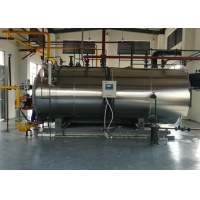 China Food Textile 1000kg Horizontal Oil Gas Steam Boiler on sale