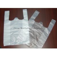 Buy cheap Environmental Protection Custom Printed Plastic Shopping Bags With Handles from wholesalers