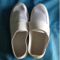 China White Mesh ESD PCV/PU Shoes for working / Anti-static shoes wholesale