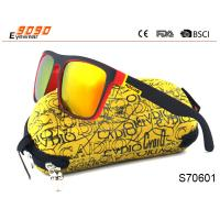 China Polarized Sunglasses Mens Square Outdoor Sport Cycling Helm Sun Glasses on sale