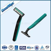 China Rubber Handle Twin Blade Disposable Razor Any Color Available ISO Certificate wholesale